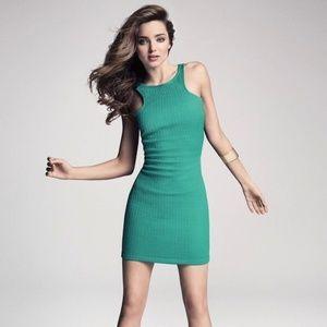44606d4c7f Mango Dresses - MNG by Mango Emerald Dress size small